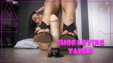 Aunt Lissie Gives You A ShoeJob 48